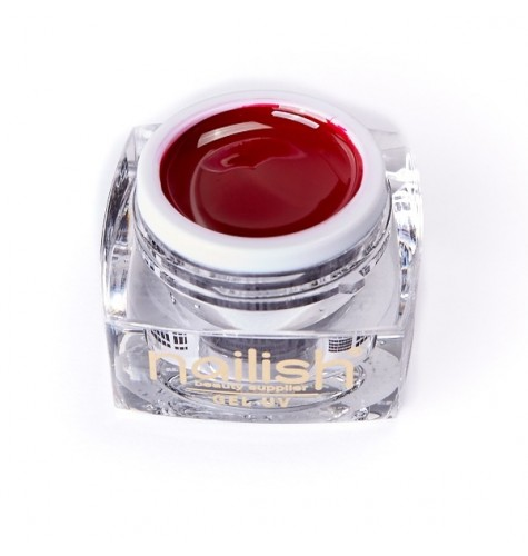 Gel UV LED Color Nailish Dark Red 5 ml