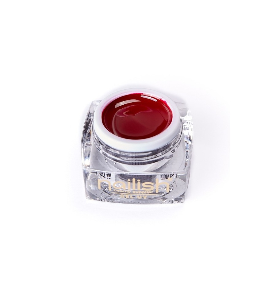 Gel UV Color Nailish Dark Red 5 ml - manucure ongles et nail art