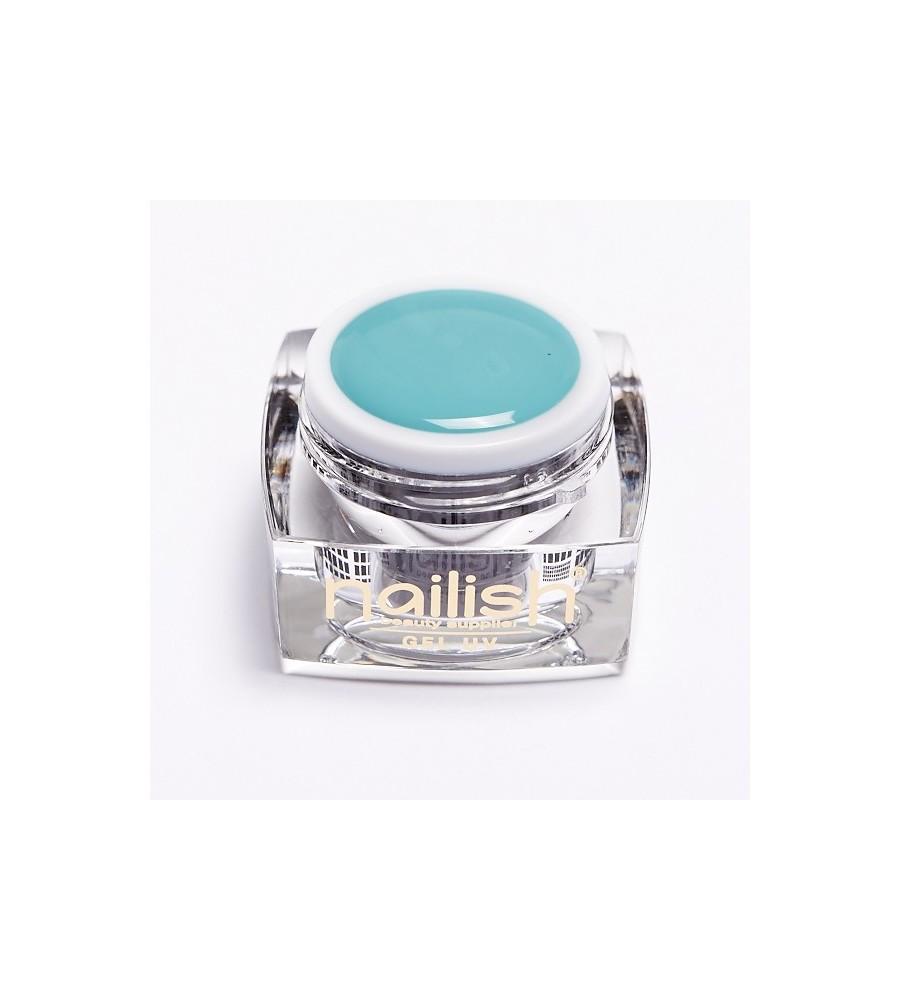 Gel UV Color Dark Turquoise 5 ml- manucure ongles et nail art pour gel uv