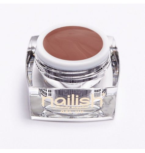 Gel UV LED Color Nailish Dark Almond 5 ml.