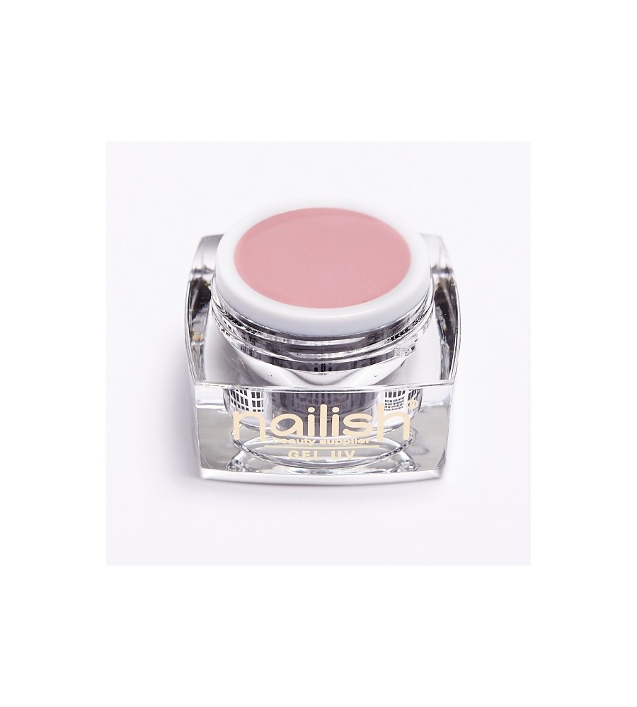 Gel UV Color Nailish Blush Rose 5 ml pour manucure ongles et nail art en gel uv.