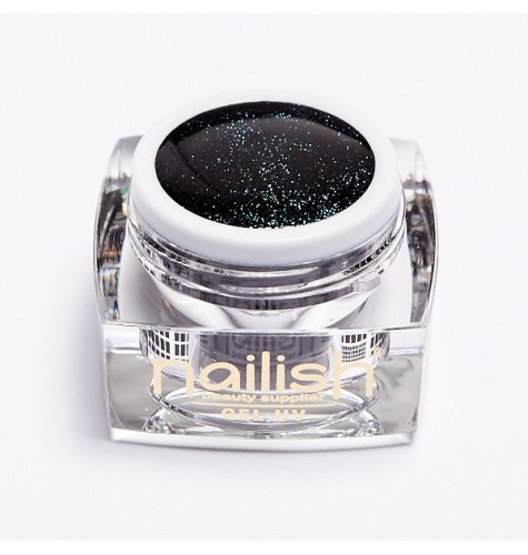 UV LED Gel Glitter Nailish Islandic Sky 5ml.