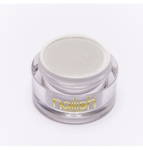 Poudre Acrylique Nailish Color Glitter White 3.5 gr