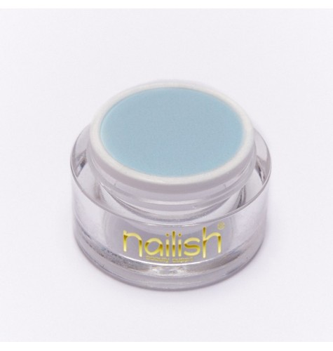 Poudre Acryilique Nailish Color Light Blue 3.5