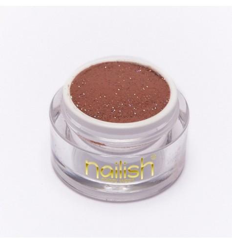 Poudre Acrylique Nailish Color Glitter Cacao 3.5