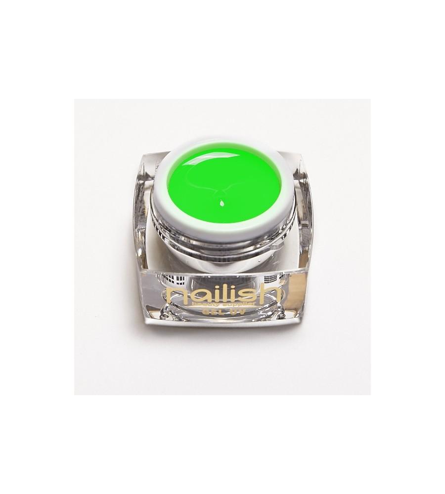 Gel Neon UV/LED Mojito pour manucure ongles et nail art en gel uv.