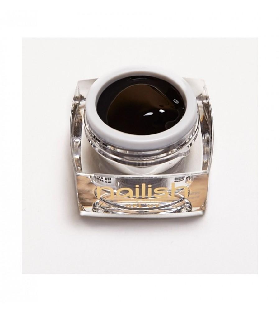 Gel Foil UV/LED Black Nailish 5ml pour manucure ongles et nail art en gel uv.