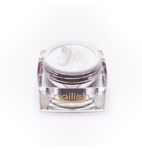 Gel UV Builder French White Nailish 30 ml pour manucure ongles et nail art en gel uv.