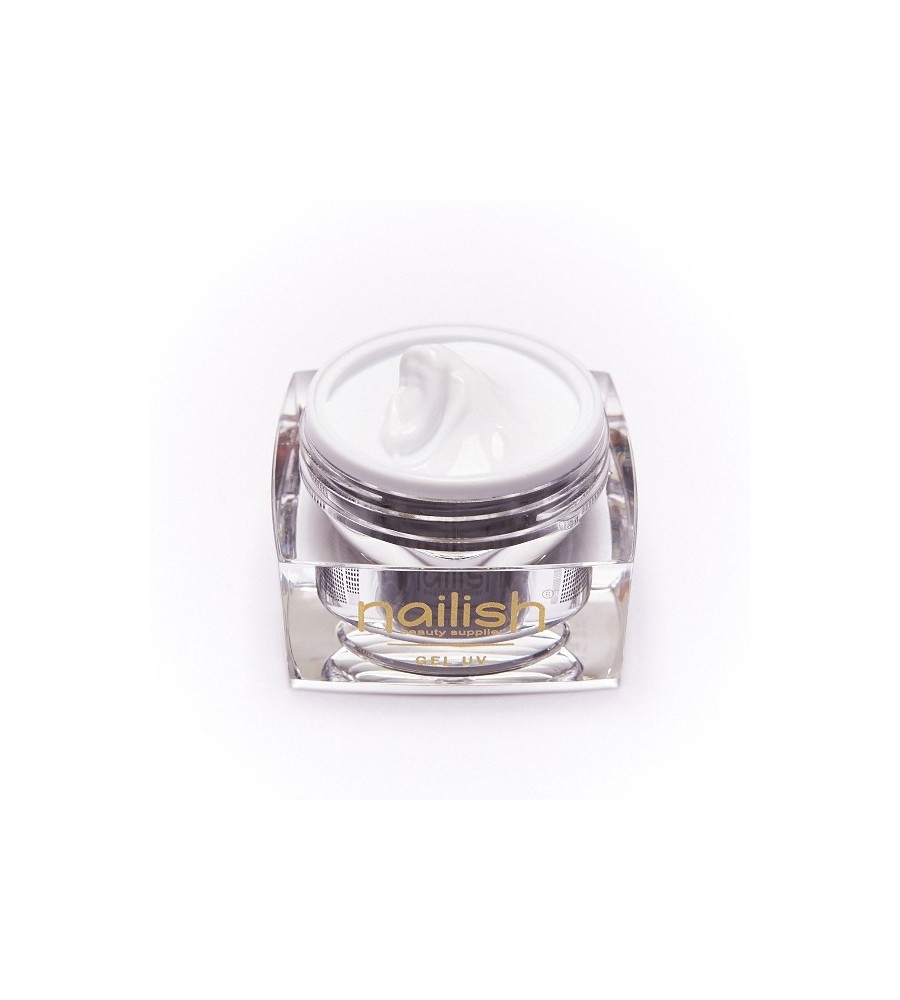 Gel UV Builder French White Nailish. 50 ml pour manucure ongles et nail art en gel uv.