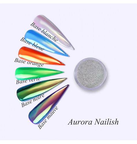 pigment aurora nail art gel uv vernis semi permanent ongles manucure