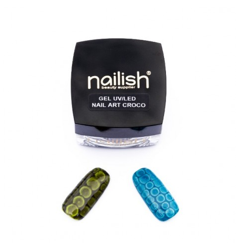 Gel UV LED Nail Art Croco 5 ml.