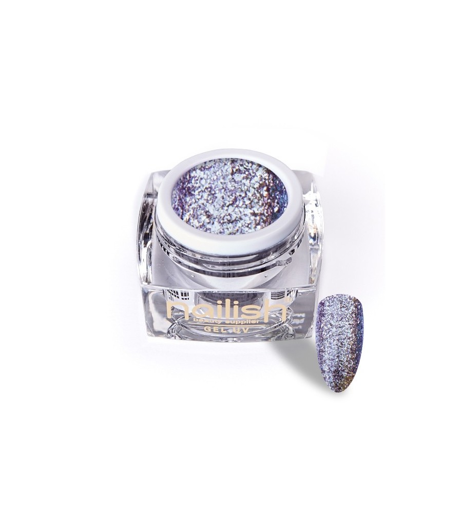 Gel Glitter UV/LED Luxury Morgan 5ml pour manucure ongles et nail art en gel uv.