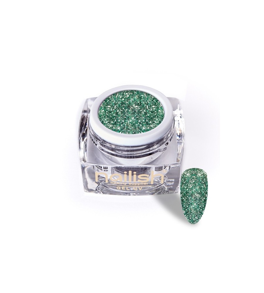 Gel Glitter UV/LED Luxury Green Diamond 5ml