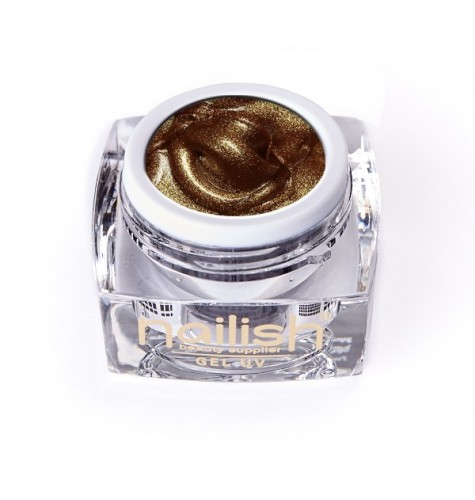 Gel UV/LED Sweet Bloom Baroc Gold 5ml manucure ongles et nail art en gel uv