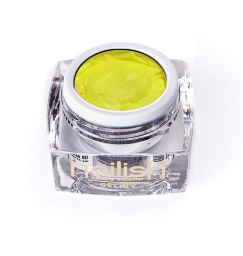 Gel UV/LED PlastArt Nailish Yellow 5ml