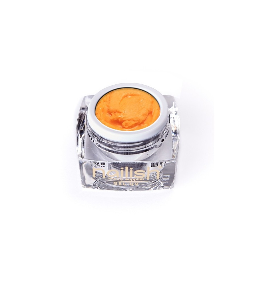 Gel UV/LED PlastArt Nailish Orange 5 ml manucure ongles et nail art en gel uv
