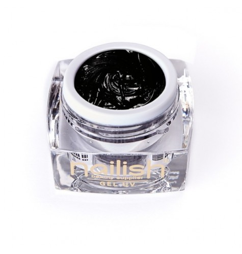 Gel UV/LED Sweet Bloom Nailish Black 5ml.