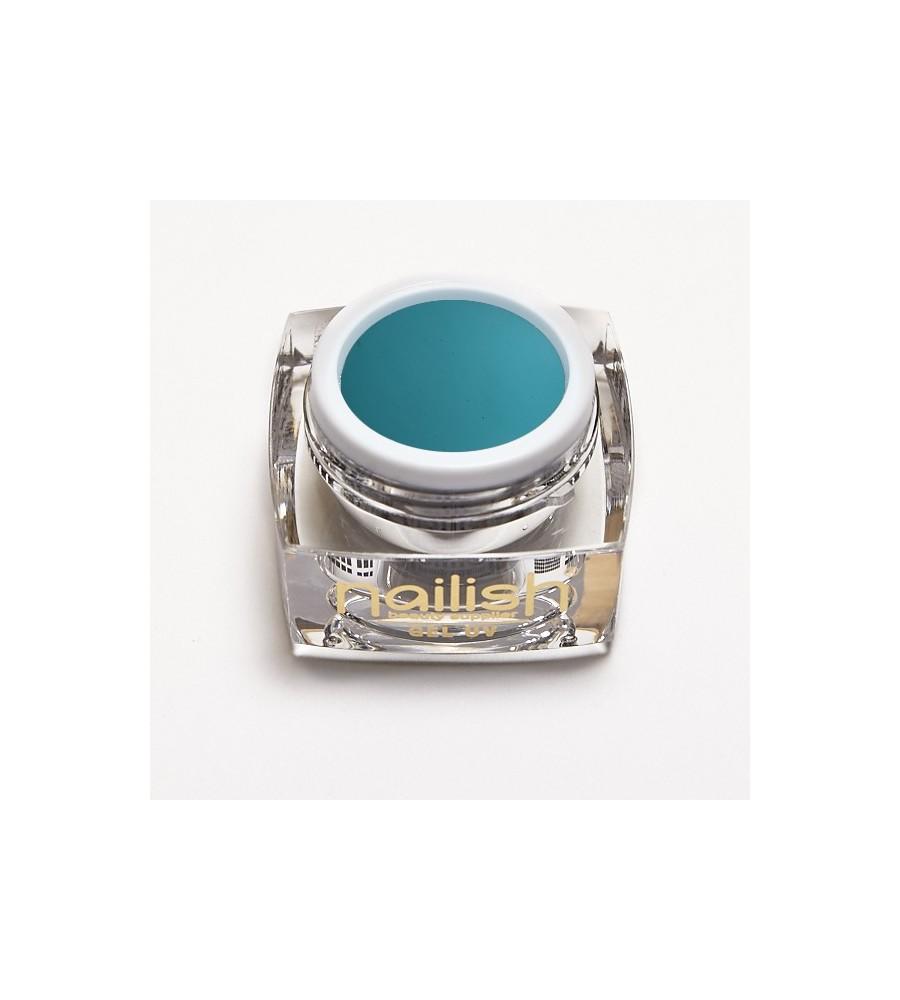 Gel Color UV/LED Dark Turquoise manucure ongles et nail art en gel uv