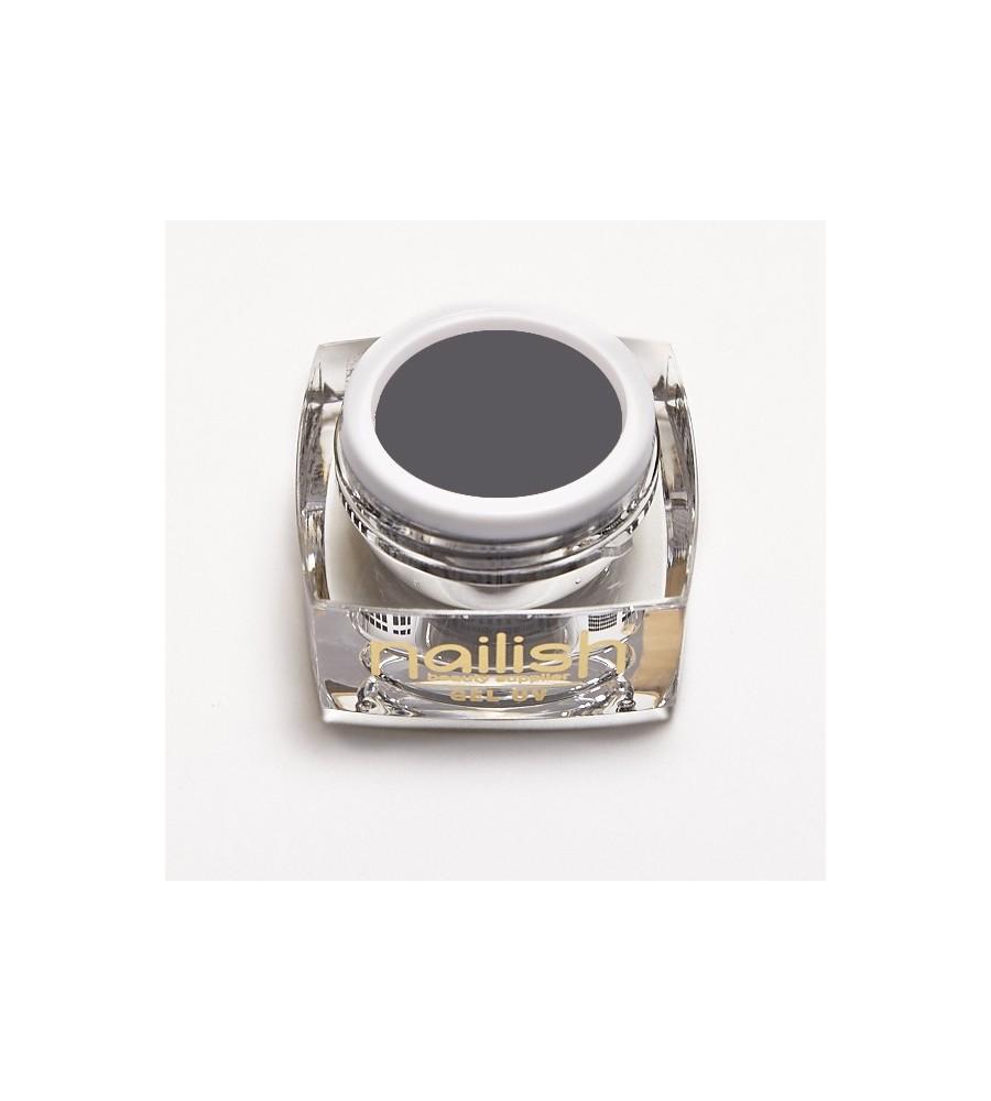 Gel UV /LED Couleur Nailish Dusty Gray pour manucure ongles et nail art en gel uv