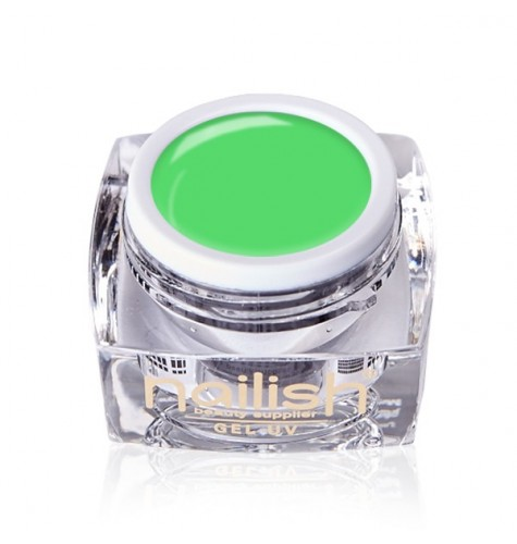 Gel Neon UV/LED Nailish Apple Green 5ml.