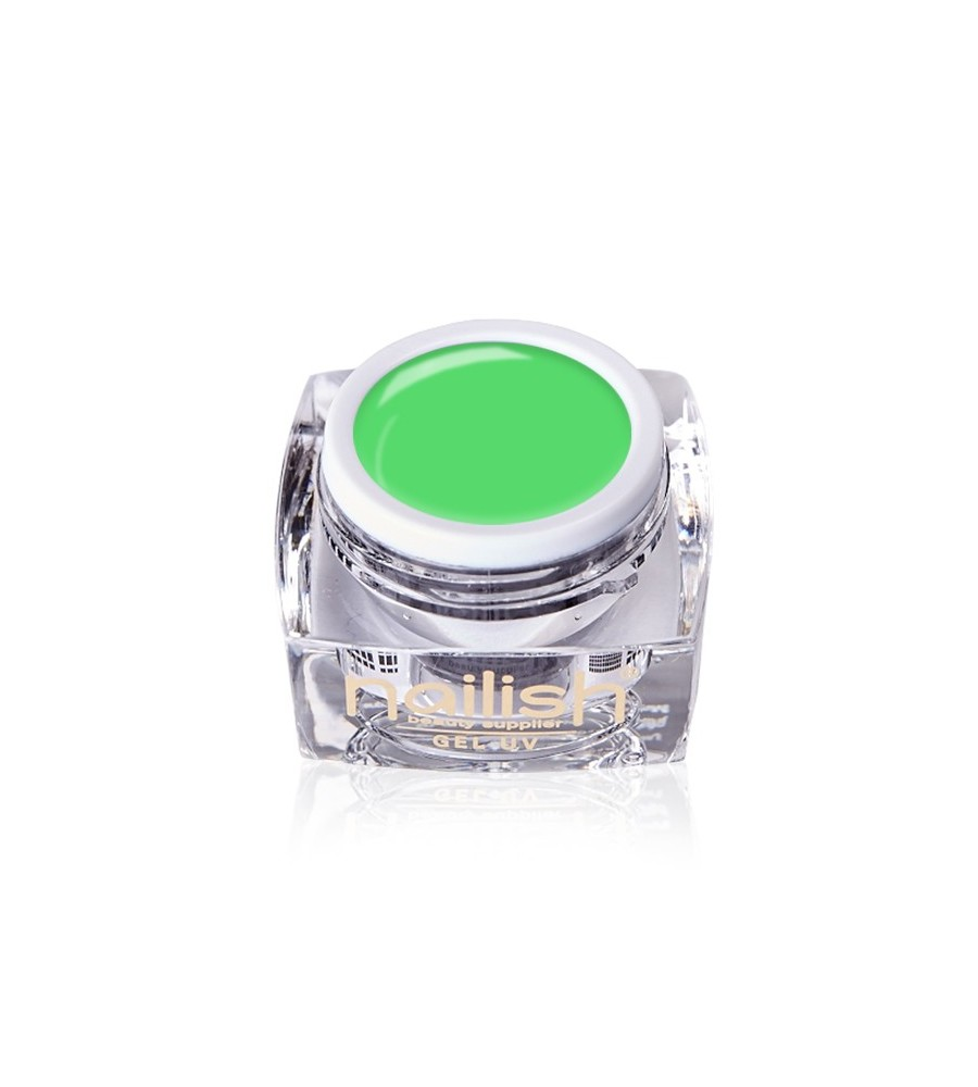 Gel Neon UV/LED Nailish Apple Green manucure ongles et nail art