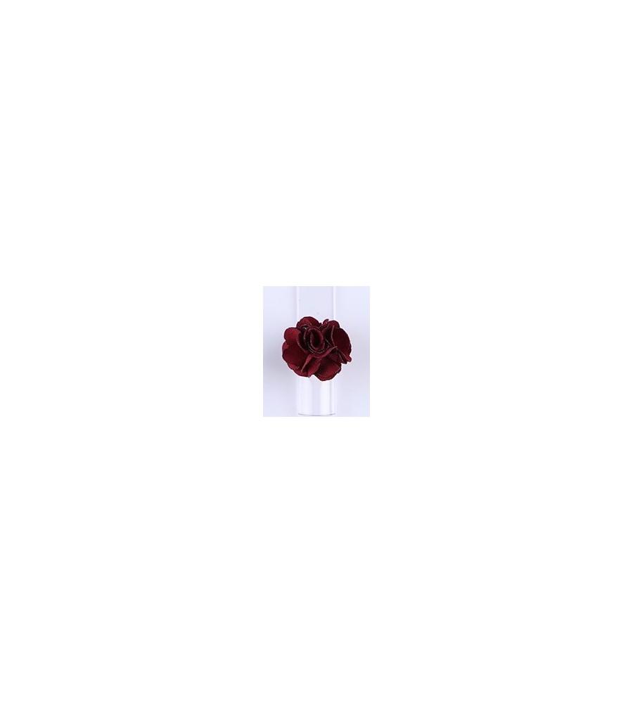Décor 3D Fleur Aimant Tissu Rouge our manucure ongles et nail art en gel uv.