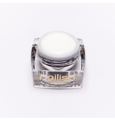 Gel French UV/LED Soft White 30 ml pour manucure ongles et nail art en gel uv.