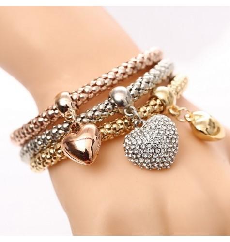 Cadeau bracelet coeur