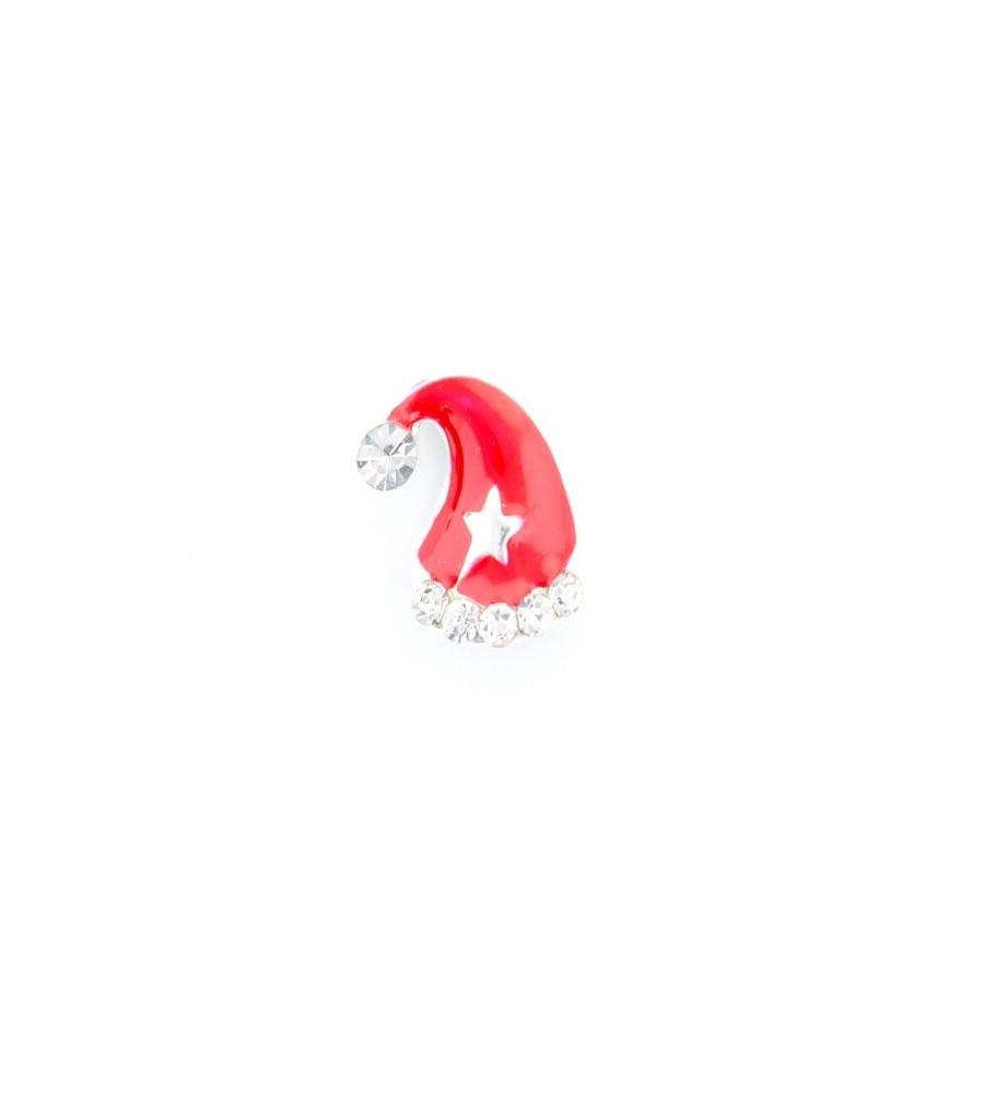 Décor 3d Bonnet Noel étoile 1pcs.