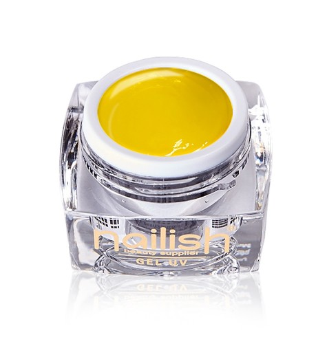 Gel Paint Yellow Nailish manucure ongles et nail art en gel uv