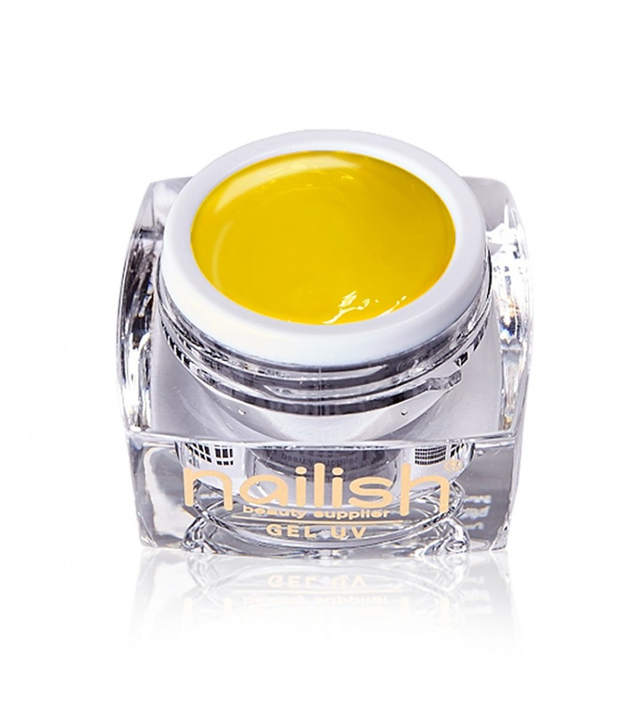 Gel Paint Yellow Nailish manucure ongles et nail art en gel uv