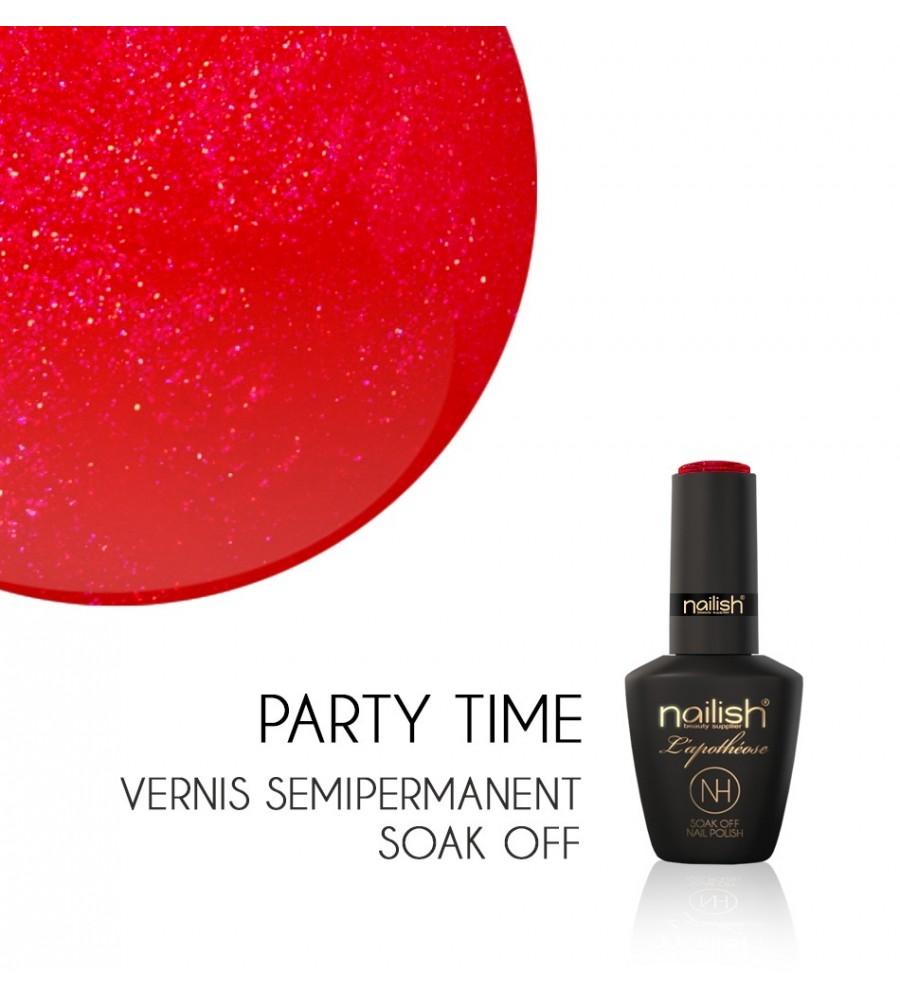 Vernis Semi Permanent UV / LED Party Time L'apothéose Nailish