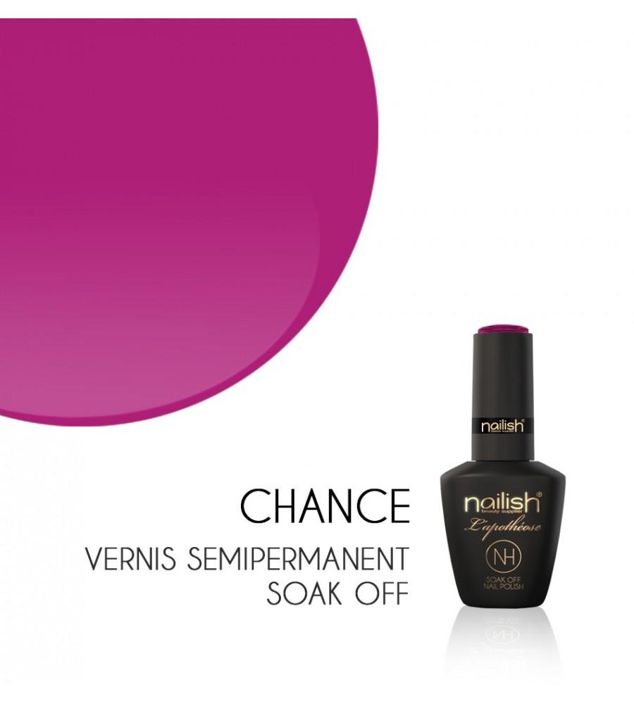 CHANCE Vernis Semi Permanent UV / LED Nailish ongles, manucure, prothesiste ongulaire, vsp, gel
