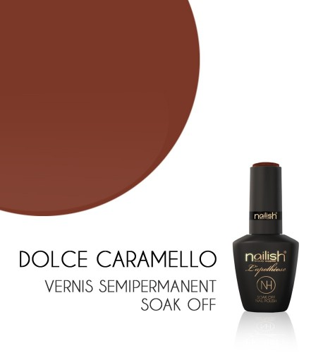 Vernis Semi Permanent UV / LED Dolce Caramello Nailish