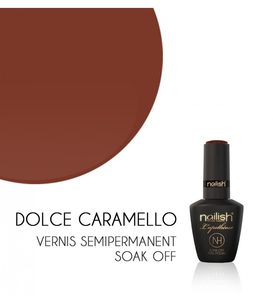 Vernis Semi Permanent UV / LED Dolce Caramello Nailish