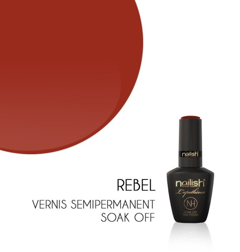 Vernis Semi Permanent UV / LED Rebel L'apothéose Nailish