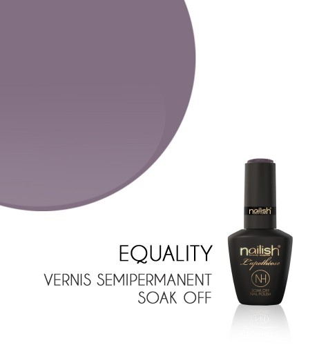 Vernis Semi Permanent UV / LED Equality L'Apothéose Nailish