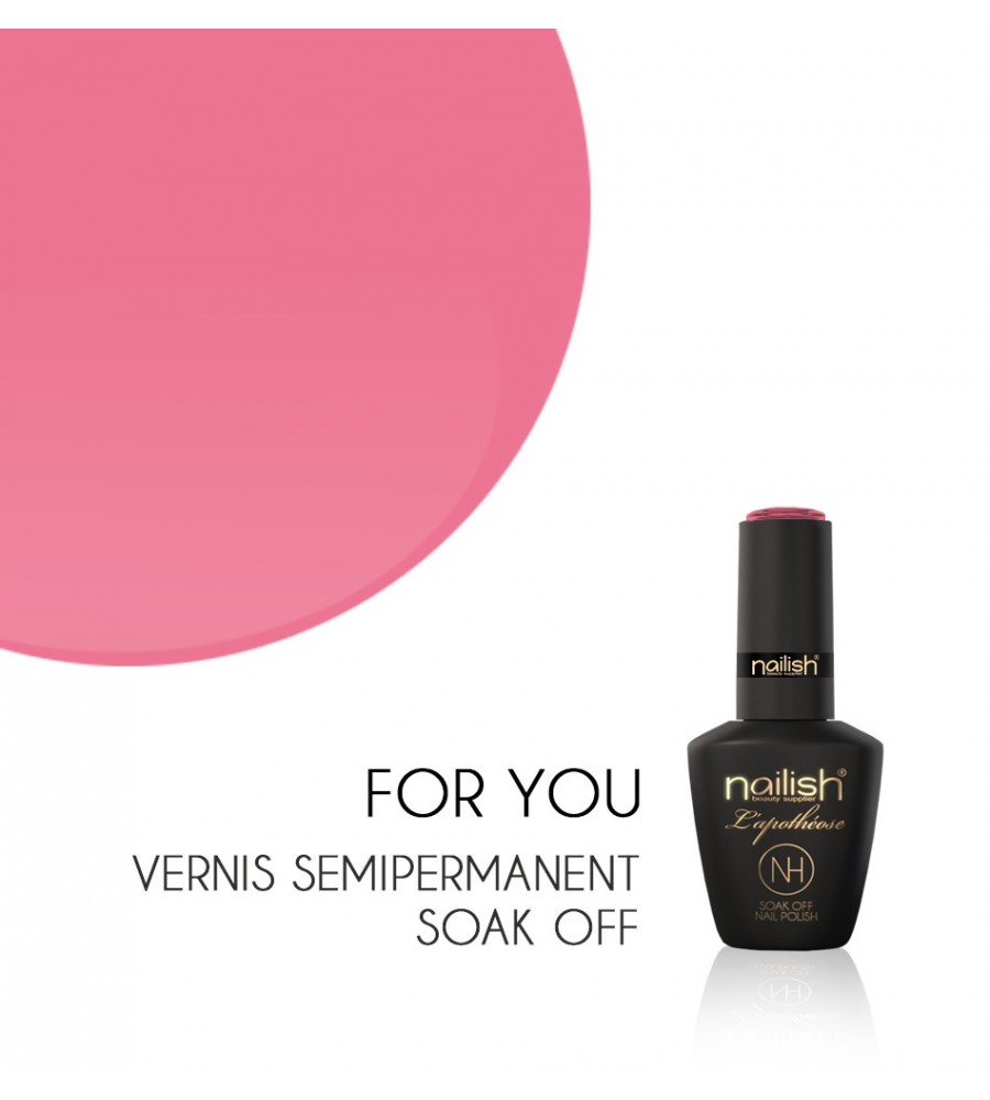 Vernis Semi Permanent UV / LED For You Nailish Apothéose