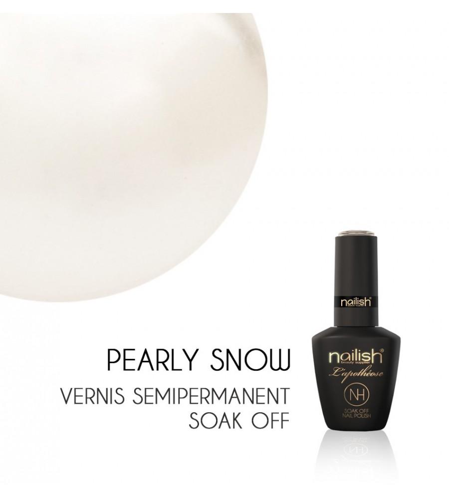 Vernis Semi Permanent UV / LED Pearly Snow Nailish Apothéose