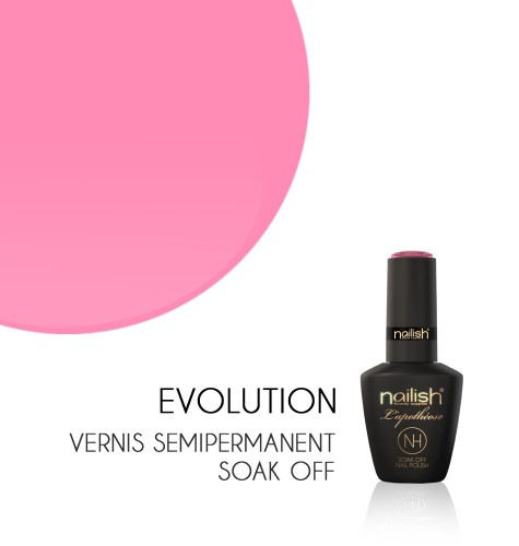 Vernis Semi Permanent UV / LED Evolution L'Apothéose Nailish