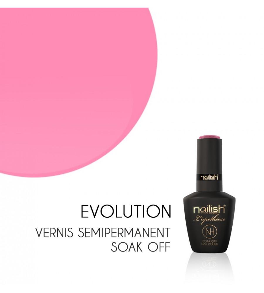 Vernis Semi Permanent UV / LED Evolution Nailish Apothéose