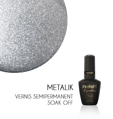 Vernis Semi Permanent UV / LED Metalik L'Apothéose Nailish
