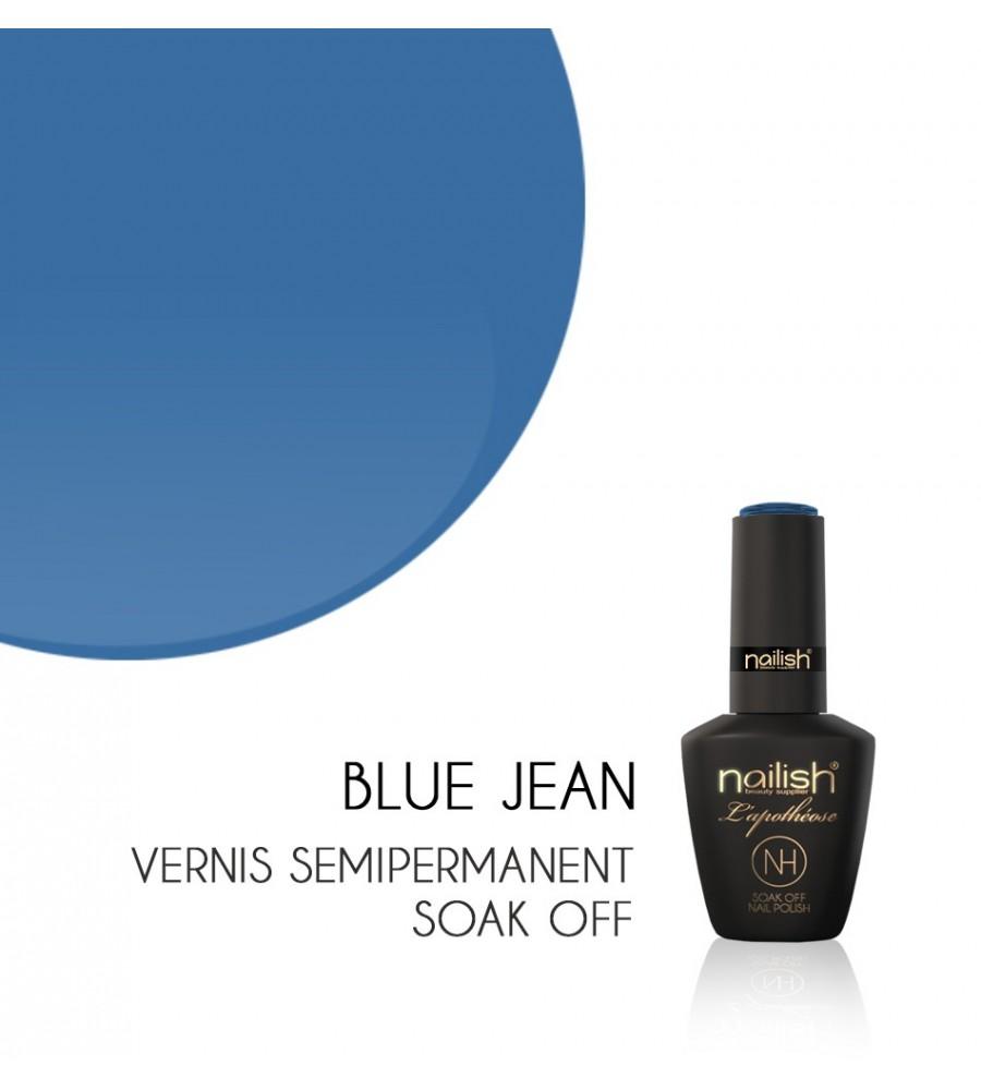 Vernis Semi Permanent UV / LED Blue Jean Nailish Apothéose