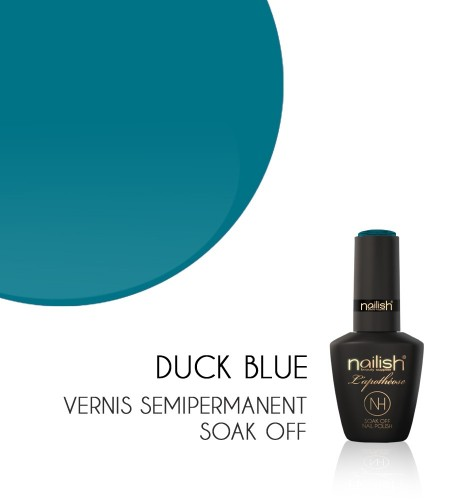 Vernis Semi Permanent UV / LED Duck Blue Nailish Apothéose