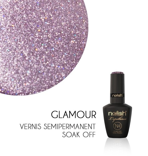 Vernis Semi Permanent UV / LED Glamour L'Apothéose Nailish