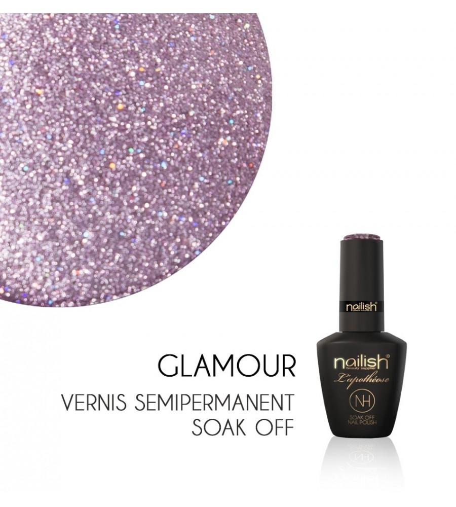 Vernis Semi Permanent UV / LED Glamour L'Apothéose Nailish