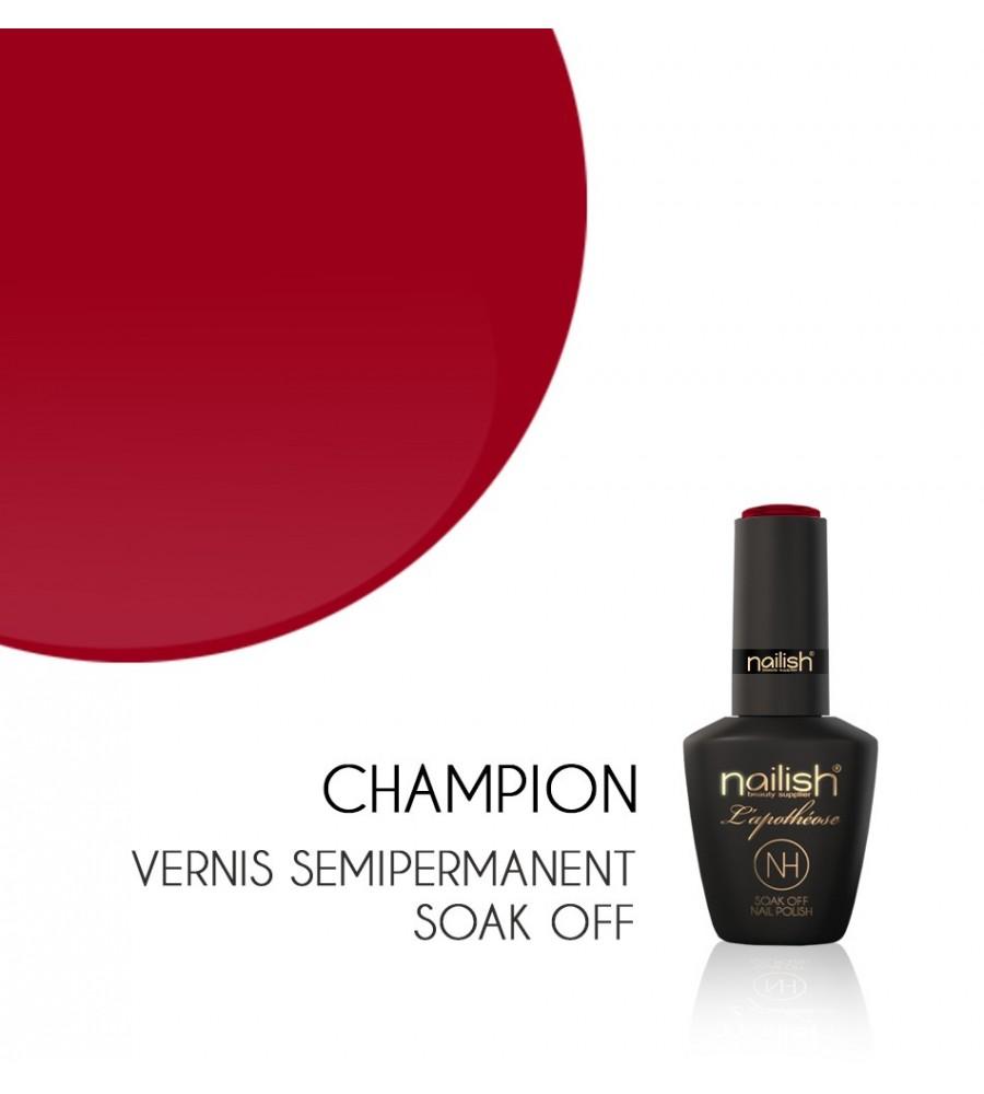 Vernis Semi Permanent UV / LED Champion L'apothéose Nailish