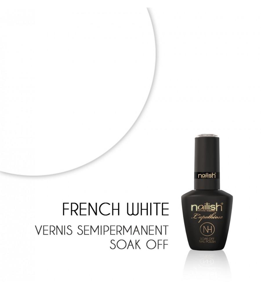 Vernis Semi Permanent UV / LED FRENCH WHITE L'apothéose Nailish
