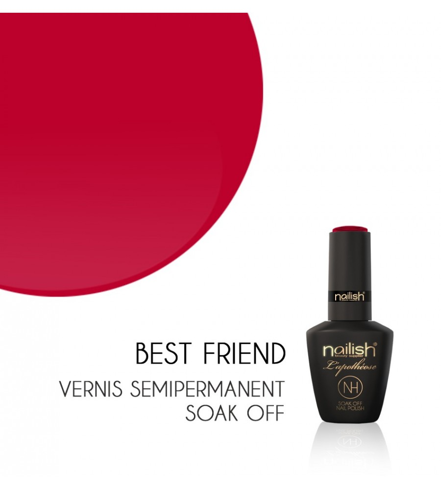 Vernis Semi Permanent UV / LED Best Friend L'apothéose Nailish