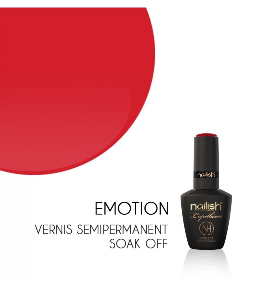 Vernis Semi Permanent UV / LED Emotion L'apothéose Nailish